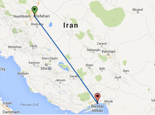 isfahan-bandar-abbas