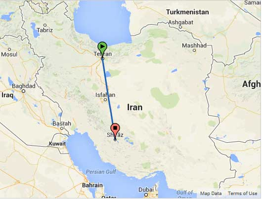 خرید بلیط لحظه آخری تهران شیراز | ارزان ترین قیمت پرواز چارتری
